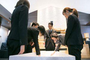 桜川市の葬儀・家族葬の流れ 納棺